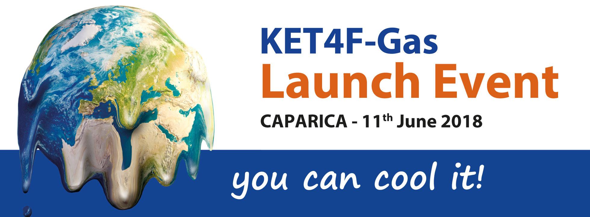 Caparica acogerá el 11 de junio el lanzamiento del proyecto de cooperación internacional SUDOE KET4F-Gas para la reducción del impacto ambiental de los gases fluorados