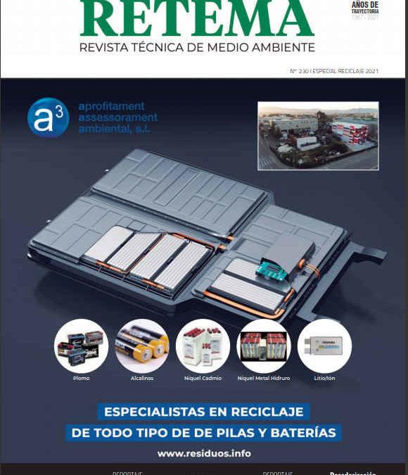 Reportaje RETEMA – KET4F-Gas, Una solución circular para reducir el impacto ambiental de los gases fluorados